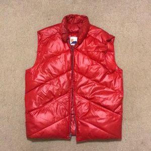 Vintage down feather vest